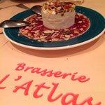 Really good dessert - Nougat Glacé.
