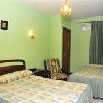 Habitación doble con cama supletoria