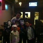 Morgan's Owner with the kids