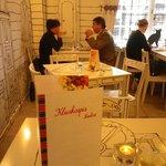 romantic or strategic moment while enjoying noodles