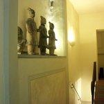 Il corridoio alle camere