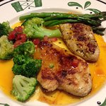 Apricot chicken  one there 575 cal meals oh so good