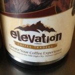 Elevation Coffee available at Kenosha Cafe