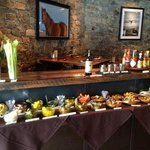 Bloody Mary Buffet for Sunday brunch.
