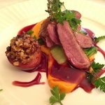 Duck main course