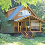 Robins Nest Cabin where we stayed!