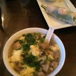 Egg Drop Soup & Spring Roll