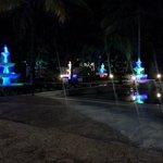 calm lights at night