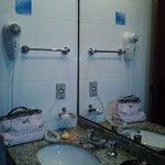 banheiro sempre limpo