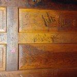The back of the men's door