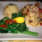Tilapia w/Shrimp & Scallops