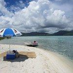 Private moth picnic and Vahine boat