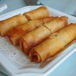 shrimp deep fried spring rolls