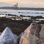 Lighthouse Across the Bay