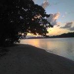 Sunset from Villa 1