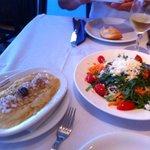 fava and salad