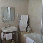 Well-designed bathroom