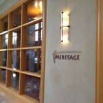 Meritage Restaurant.  Good meal.