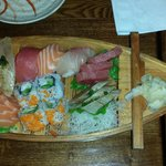 Sushi and Sashimi Boat