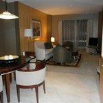 Lounge/dining area of Junior Suite