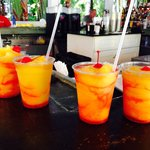 Delicious tropical drinks!