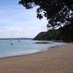 Russell beachfront