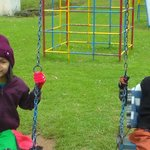 CHILDREN ENJOYING PARK