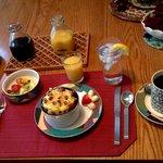 magnificent breakfast