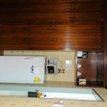 Nice large fridge, good minibar prices