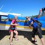 Skydive Oz plane