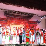A performance in Shaxi ancient town
