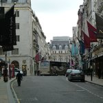 View of Old Bond Street towards Piccadilly