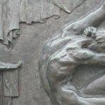 detail of Einar Jonsson sculpture