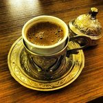 Always friendly and ready with Turkish Coffee.