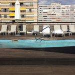 piscine exterieur (petite) au 6ème étage