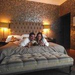 fab big bed sooo comfy