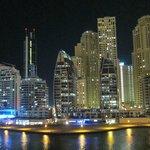 Night view of Marina Walk (directly beside hotel building)