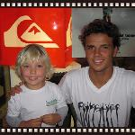Pro Surfer Julian Wilson meets Beach Bum Sacha