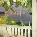 View of Powai lake from hotel