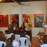 Exhibition with Francisco Guzmann