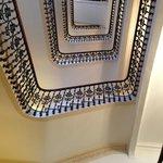 Hotel main stairs