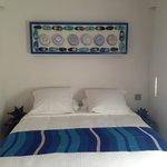 Blue room bed