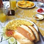 breakfast in Sa Pa Luxery Hotel