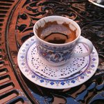 Turkish coffee which was served on our departure from the hotel