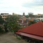 Vue du balcon collectif