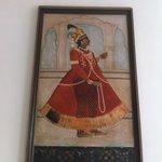 Beautiful Paintings along the hotel corridors