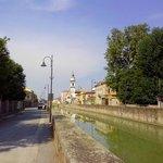 деревушка Battaglia Terme