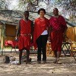 My Maasai friends @ Selenkay Conservancy