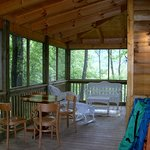 Newfound screened porch