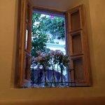 window from breakfast room